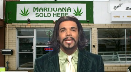 Drake As Katt Williams Vs. Nancy Grace's Anti-Marijuana Crazyness!