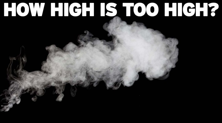 Legal Marijuana: How High Is Too High?