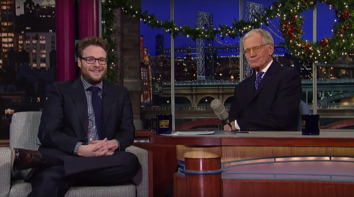 Seth Rogen & David Letterman Talk about Weed