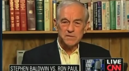 Ron Paul owns Stephen Baldwin in marijuana debate