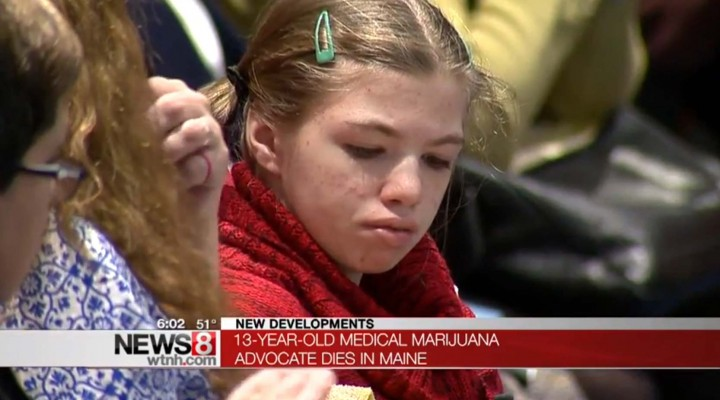 13yr Old MMJ Advocate Passed Away