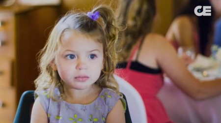 Little Girl With Epilepsy Tries Cannabis Oil