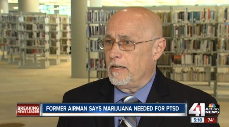 Former airman says marijuana could help treat veterans' PTSD