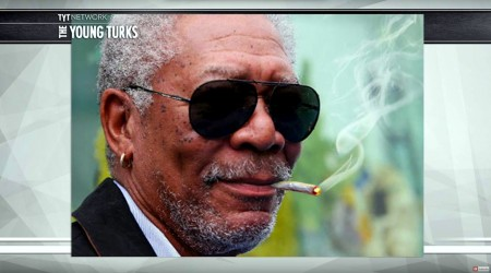 Morgan Freeman Loves Pot