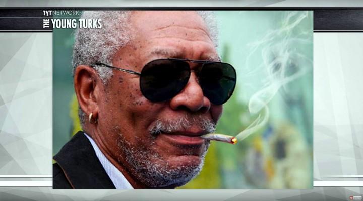 Morgan Freeman Loves Pot