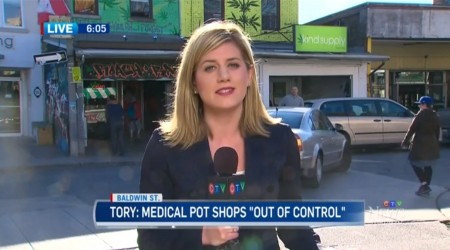 Toronto | Marijuana Shop Increase 'Out of Control'