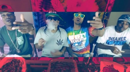 Los Rakas ft. Berner & D.A.GO – Roll Up