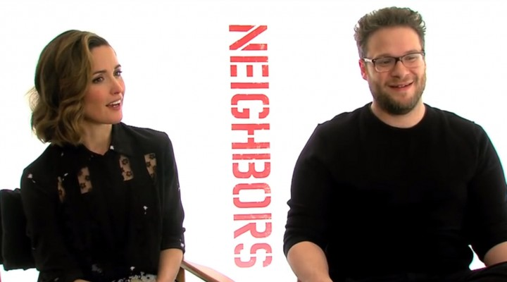 Seth Rogen & Rose Byrne Take Cannabis Quiz