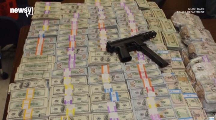 $24M Seized From Accused Miami Marijuana Trafficker