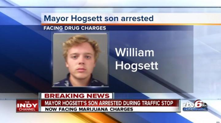 Son of Mayor Arrested on Marijuana Charges