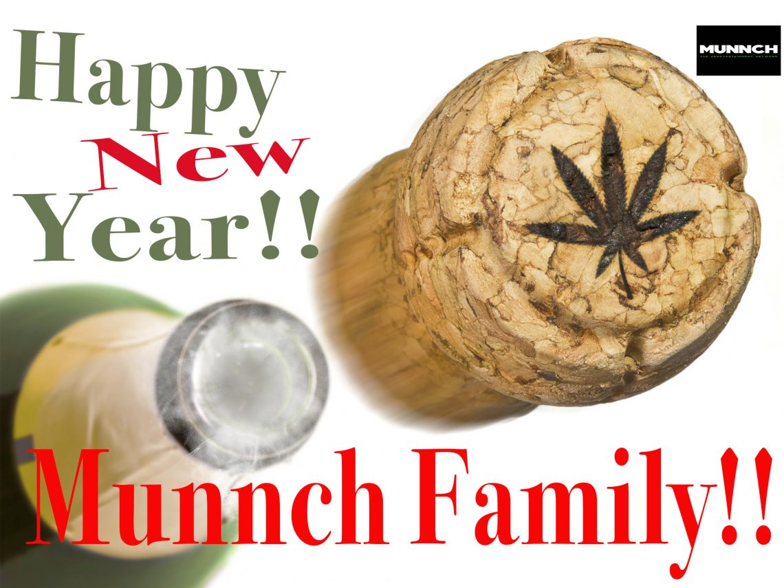 Happy New Year Munnch family!!