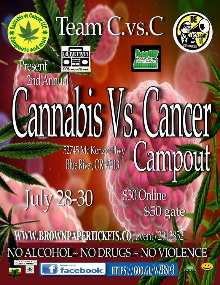 Second Annual Cannabis Vs. Cancer Campout is coming!!