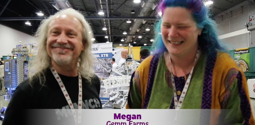 Check out Pauly with Megan from Gemm Farms at PDX Hempfest 2017