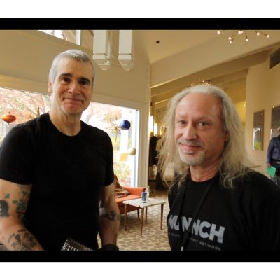 Henry Rollins, Alex Rogers, and Sen. Floyd Prozansky at Oregon Marijuana Business Conference, Ashland, Oregon 2017